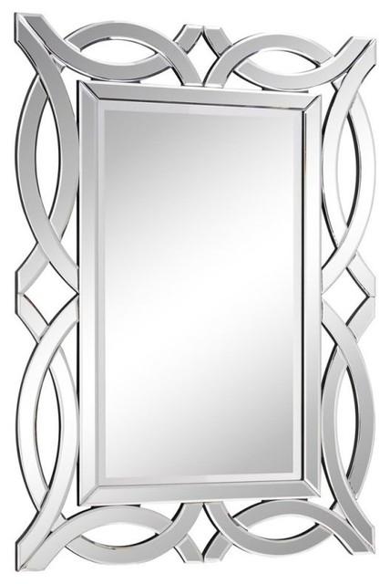 Modern Labyrinth Wall Mirror. -1