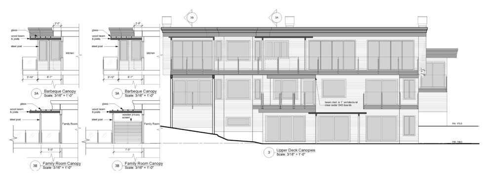 Rear Elevations and Details