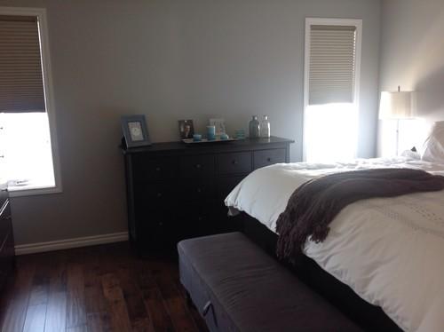Empty Bedroom Walls