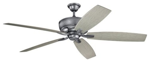 "Kichler 310206 70"" 5 Blade Indoor/outdoor Fan With Blades And Wall Control."
