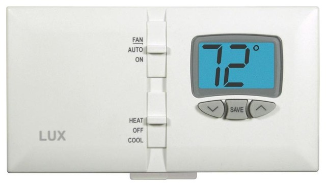 Lux® DMH110 Digital Non-Programmable Thermostat w/Easy-To-Read Back-Lit Display