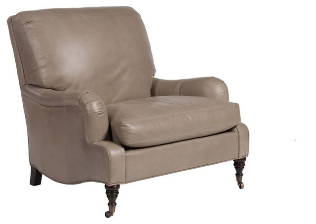 Lillian August Lillian August Markham Leather Chair