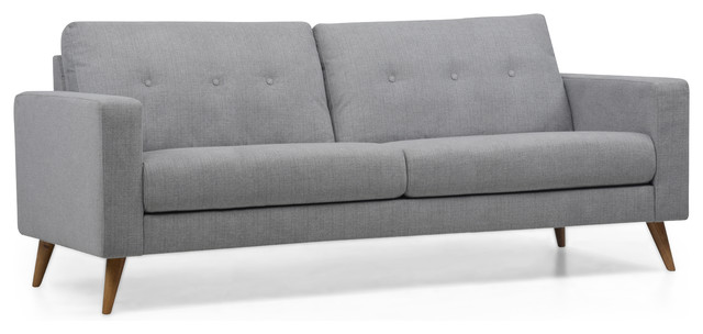 Felicity Ash Gray 2-Seater Sofa.