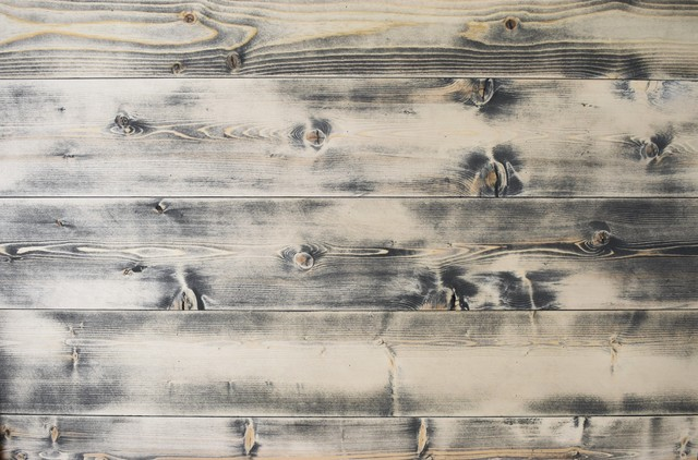 Shiplap Wall Planks Distressed Gray Wood Ceiling Farmhouse Decor
