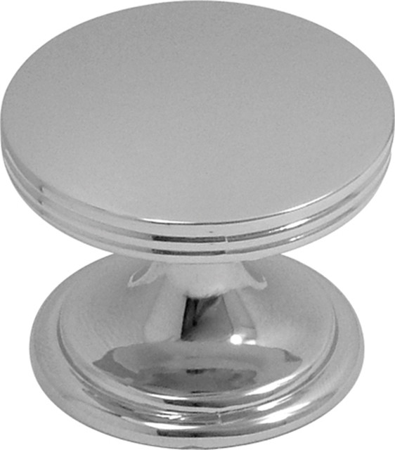 Hickory Hardware 1-3/8 In. American Diner Black Nickel Cabinet Knob - Transitional - Cabinet And ...