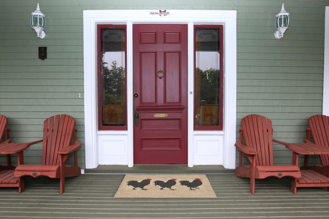 Roosters Rug, Neutral, 24x36.