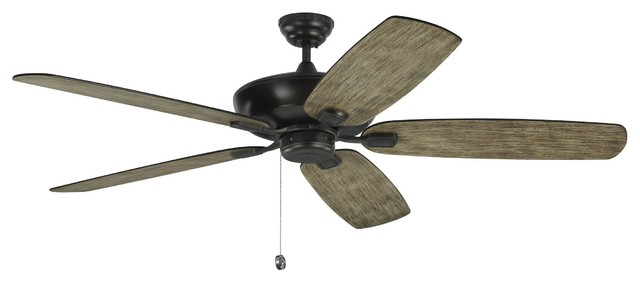 Monte Carlo 60 Colony Super Max Aged Pewter Ceiling Fan.