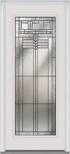 "Oak Park Full Lite Steel 35.5""x81.75"" Lh In-Swing."