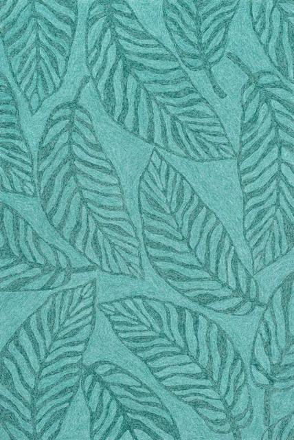 Tropez Indoor/Outdoor Loloi Area Rug Aqua TZ 06 Tropical Outdoor Rugs