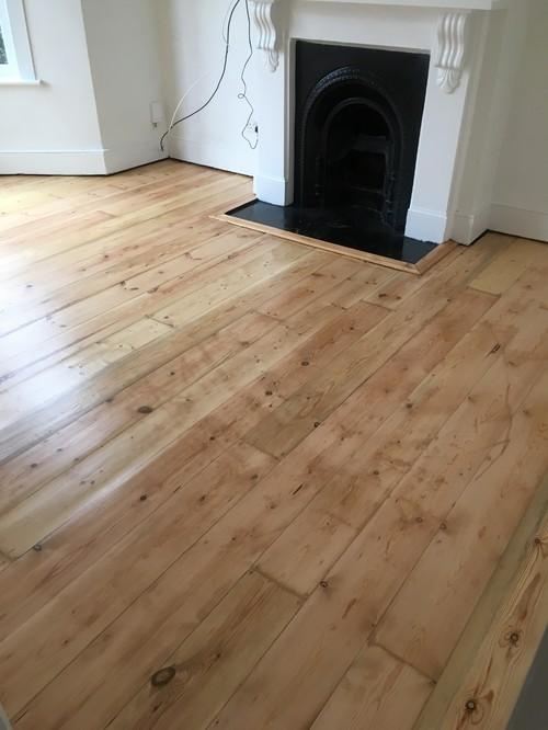 Newly Sandedrestored Wood Floors
