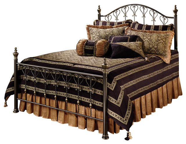 Huntley Bed Set With Rails, King