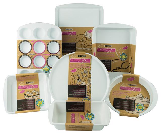 range kleen ceramabake beginners kitchen - Bakeware Sets