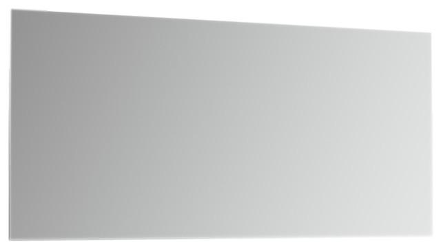 "Eviva Sleek 72"" Frameless Bathroom Wall Mirror"