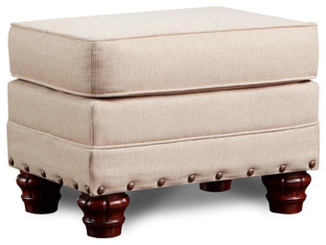 American Furniture Classics Model B9904-AB-OTTO Abington Sand Ottoman by American Furniture Classics