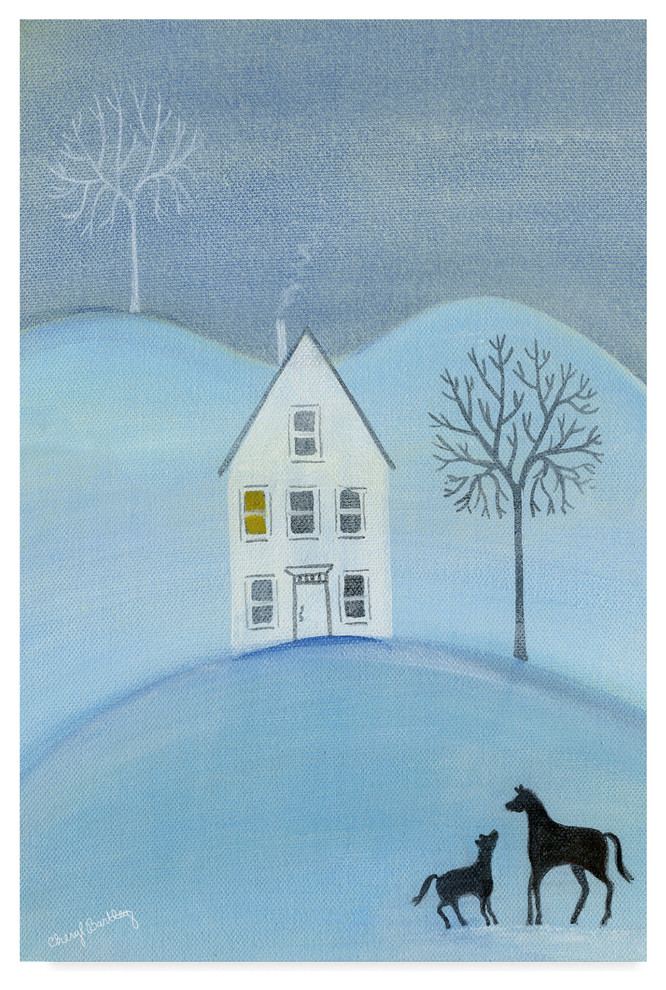 Winter Time Poster Print by Cora Niele 24 x 24