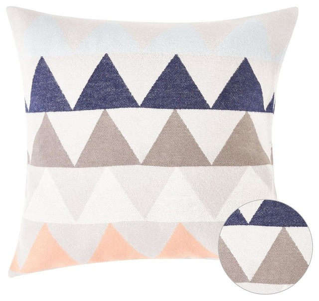 Dion Contemporary Cotton Throw Pillow Multicolor Contemporary Unique Multicolored Decorative Pillows