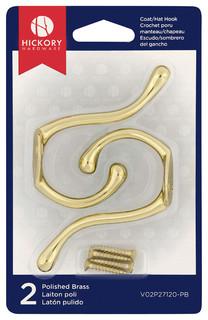 Image Result For Hickory Hardware Polished Brass Utility Hook