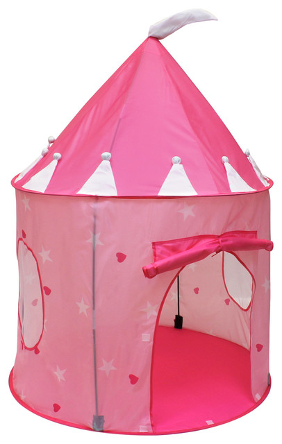 Click Nu0027 Play Girlu0027s Princess Castle Play Tent Pink contemporary-kids-toys  sc 1 st  Houzz & HomeCo - Click Nu0027 Play Girlu0027s Princess Castle Play Tent Pink ...