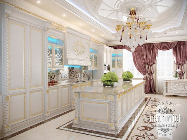 Kitchens dubai from antonovich design for Kitchen design qatar