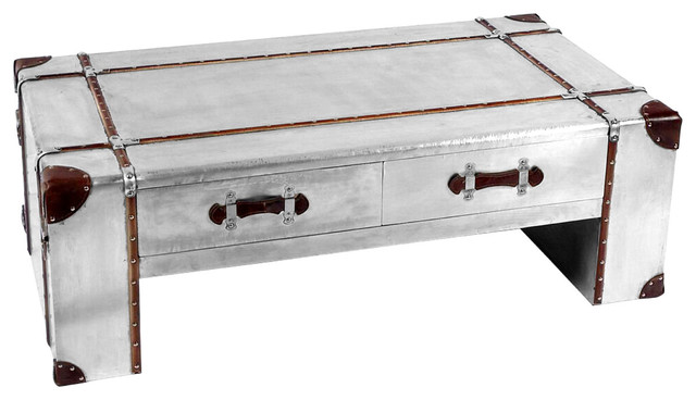 Awesome New Aviator Coffee Table Industrial Coffee Tables