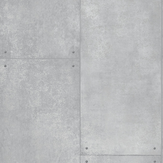 Metal self adhesive removable wallpaper industrial for Metallic removable wallpaper