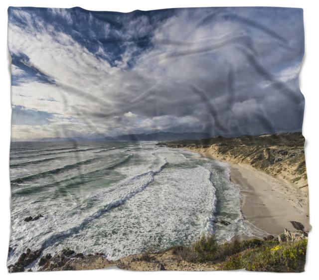 Strange Stunning South Africa Sea Coast Seashore Throw Blanket 78X71 Onthecornerstone Fun Painted Chair Ideas Images Onthecornerstoneorg