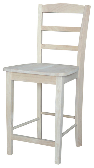 Madrid Stool Counter Height Farmhouse Bar Stools And