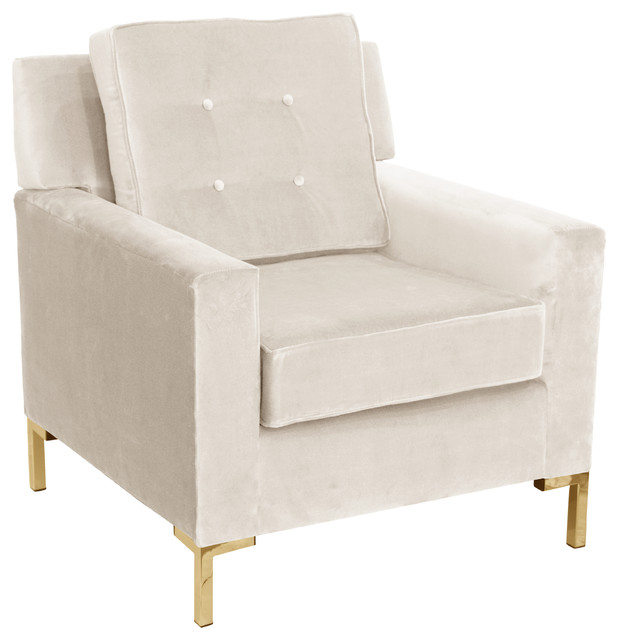 Superb Arm Chair With Y Base Regal Antique White Bralicious Painted Fabric Chair Ideas Braliciousco