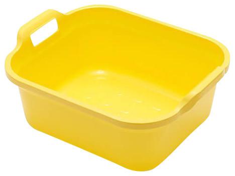 Addis 10 l. Twin Handled Washing Up Bowl, Yellow
