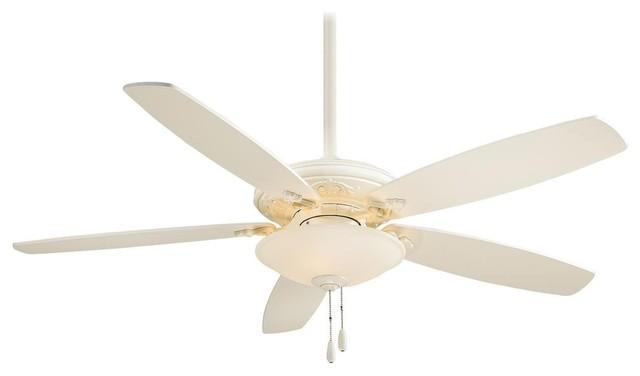 Minka-Aire Mojo Ceiling Fan, Bone White.