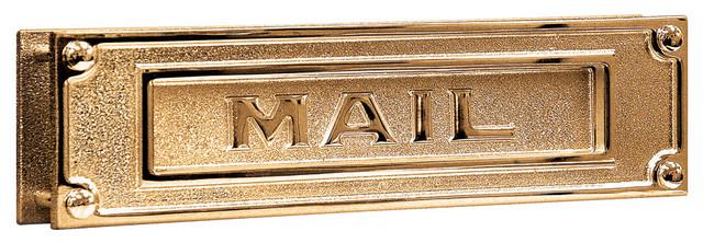 Salsbury Salisbury Industries Deluxe Solid Brass Mail