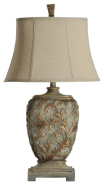 Stylecraft Mutli Dimensional Traditional Table, Lamp.