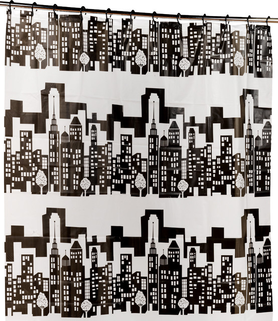 Curtains Ideas cityscape shower curtain : Carnation Home Fashions