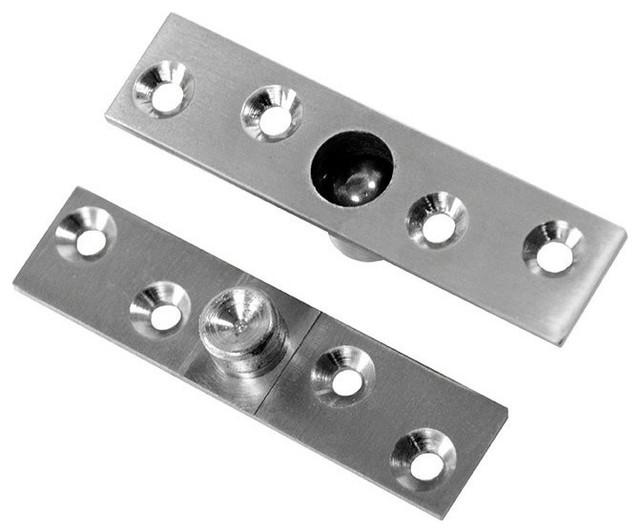 Jako Pivot Door Hinge, Satin Nickel - Transitional - Hinges - by Jako Hardware