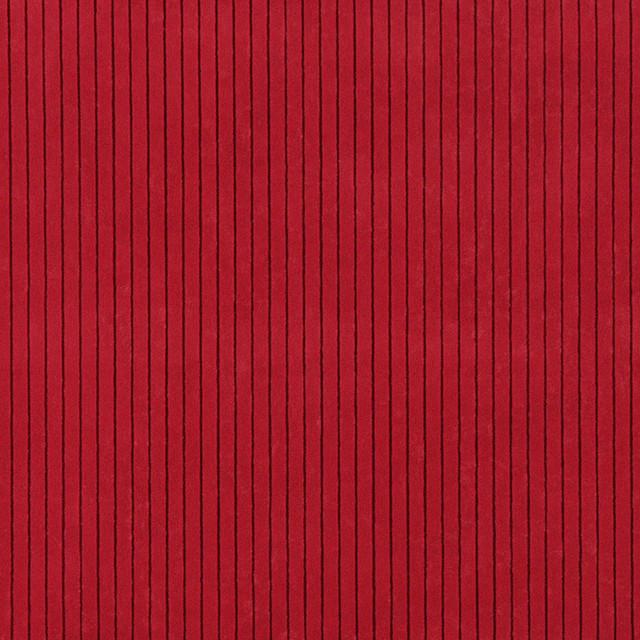 Palazzo Fabrics Red Striped Microfiber Upholstery Fabric