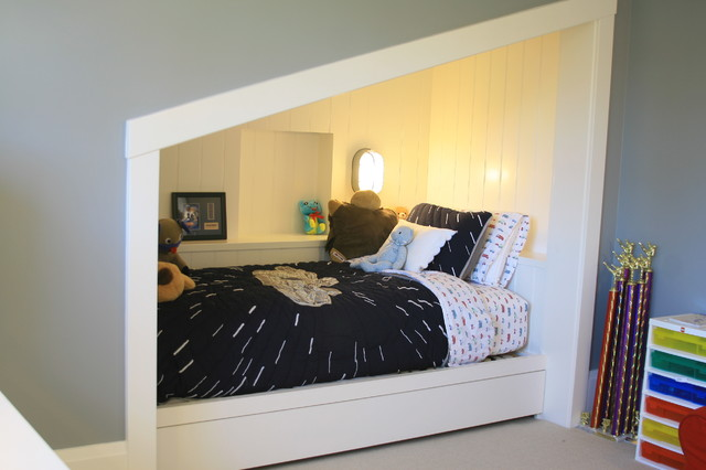 Built In Bed Nook