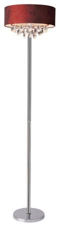 Kenroy Kr-32119-Bs Bolen Transitional Arc Floor Lamp