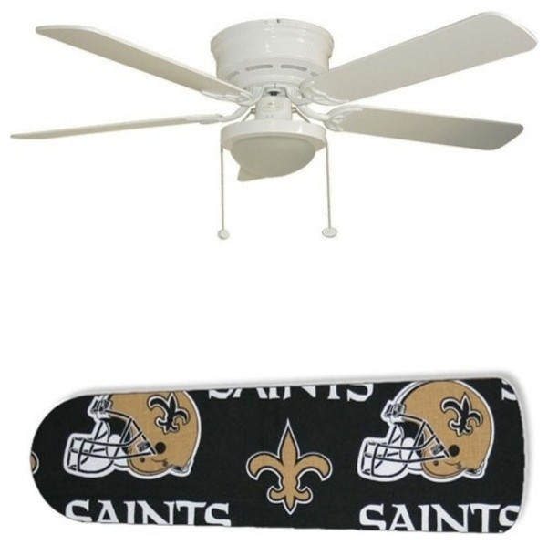 New Orleans Saints 52 Ceiling Fan With Lamp Mediterranean Fans By 888 Cool