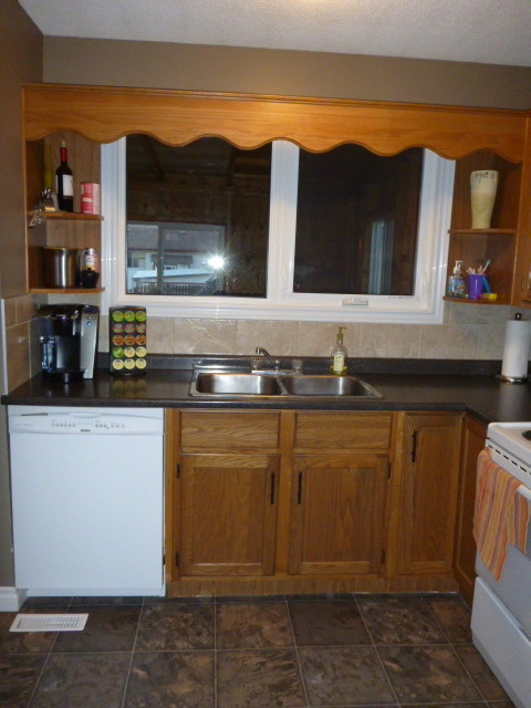 Outdated Kitchen Needs A Quick Fix