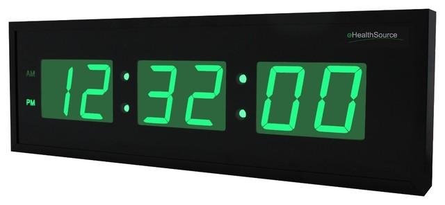 Oversized Digital LED Clock