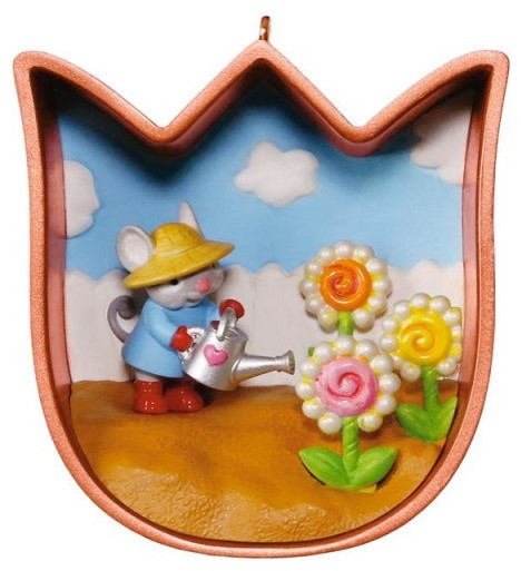 Hallmark Cookie Cutter Mouse Spring Ornament