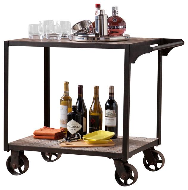Southern Enterprises Inc Dayne Transitional Bar Cart.