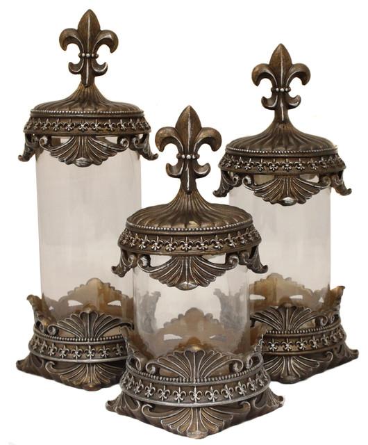 Urban Designs Urban Designs Baroque Bronze Fleurdelis Decorative Kitchen Design