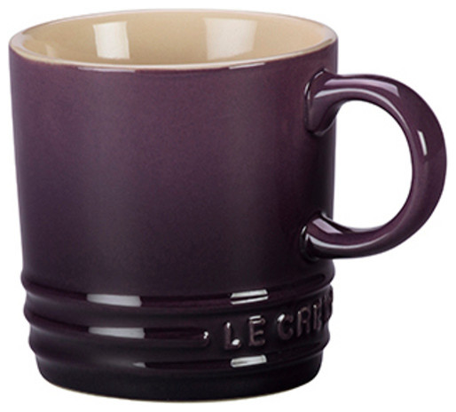 Le Creuset 3 5 Oz Stoneware Pee Espresso Mugs Cis Set Of 4