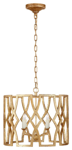 Niermann Weeks Brittany Small Lantern, Venetian Gold.