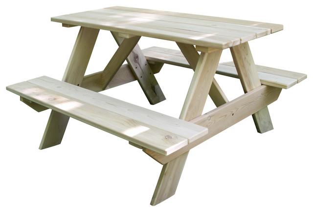 Remarkable Toddlers Cedar Picnic Table Creativecarmelina Interior Chair Design Creativecarmelinacom