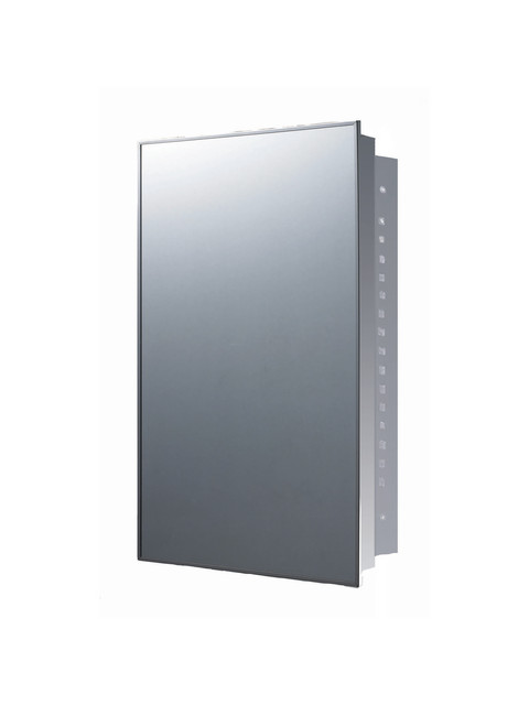 """Deluxe Stainless Steel Medicine Cabinet ,18""""x24"""", Recessed Mounted"""