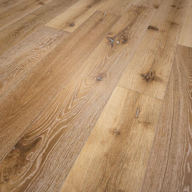 French Oak Prefinished Engineered Wood Floor, Idaho, Sample