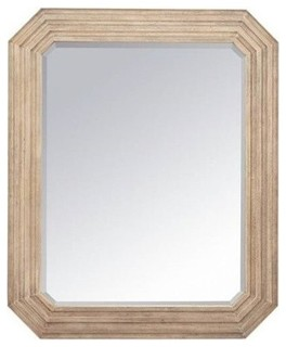 Stanley Furniture Hadley Rectangular Dresser Mirror, Rafter - Wall Mirrors - by Homesquare