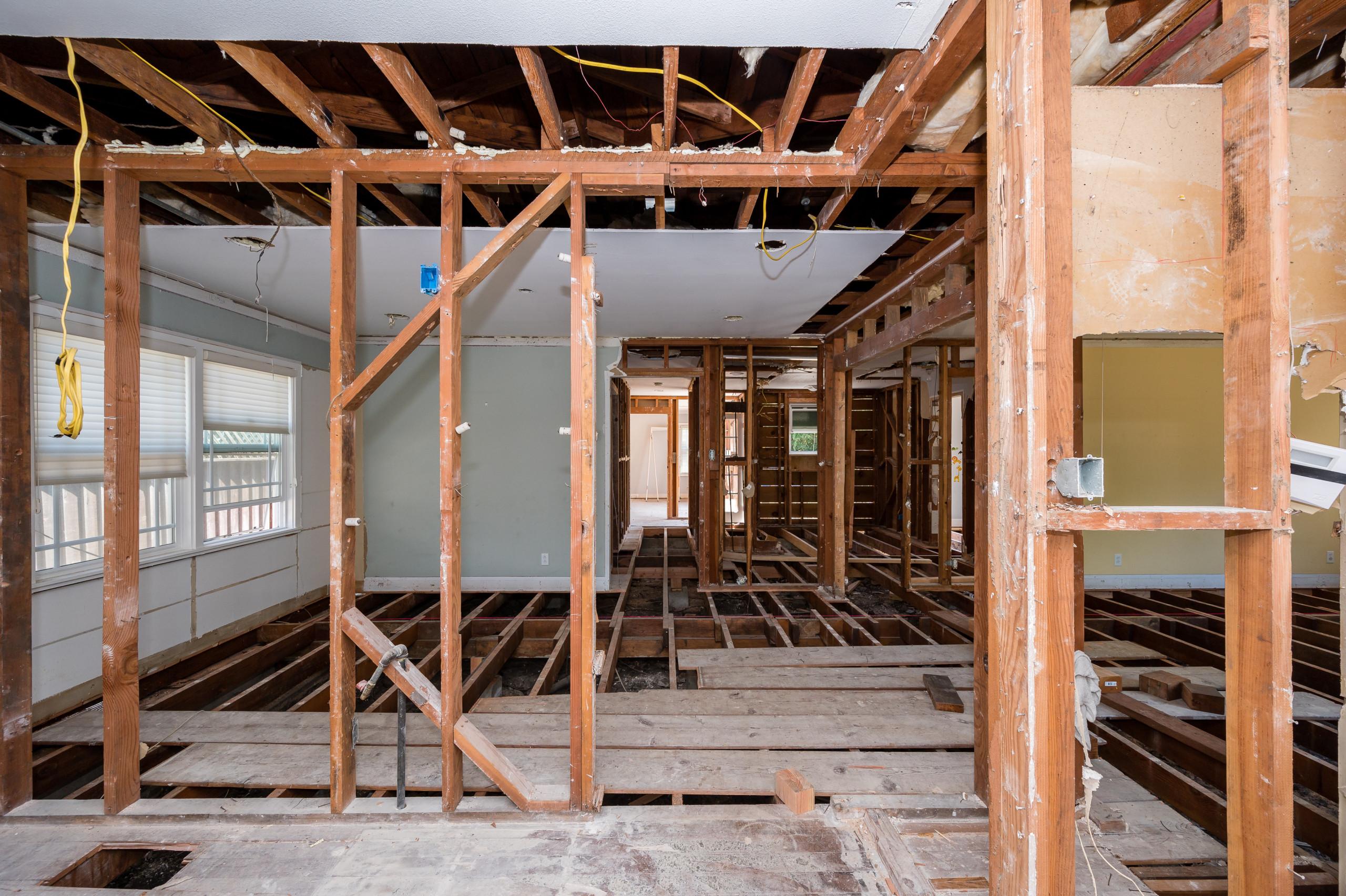 DURING CONSTRUCTION - Custom Home - Menlo Park